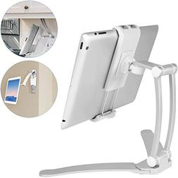 Macally 2-in-1 Kitchen Tablet Stand & iPad Wall Mount / Unde