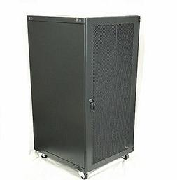 18U Wall Mount Network Server Cabinet Rack Enclosure meshed