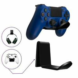 2x Acrylic Wall Mount Holder Hanger For Headphone PS4 xBox S