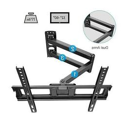 FULL MOTION LCD LED TV WALL MOUNT BRACKET SWIVEL TILT 32 36