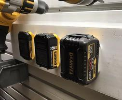 BEST SELLING 4X DeWALT 20V/60V BATTERY MOUNTS - Works on She