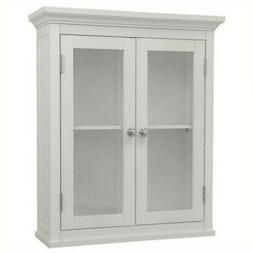 Elite Home Fashions 7046 Madison Avenue Wall Cabinet with 2