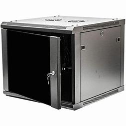 NavePoint 9U Deluxe IT Wallmount Cabinet Enclosure 19-Inch S