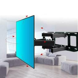 Articulating Full Motion TV Wall Mount Tilt 180°Swivel For