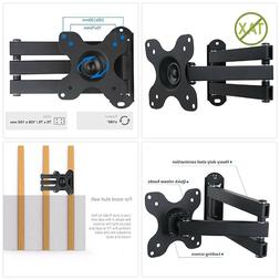 WALI Articulating TV LCD Monitor Wall Mount Full Motion 14qu