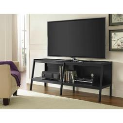 Altra Furniture Black Ladder TV Stand for TVs up to 65