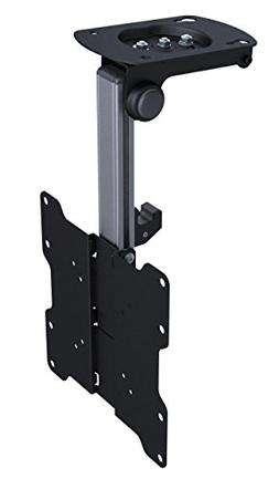 TV Ceiling Folding Mount Bracket with 110 Degree Tilt and 18