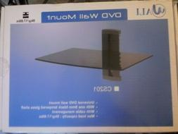 Wali  DVD Wall Mount Floating Shelf with Strengthened Temper