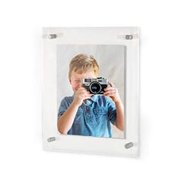 ArtToFrames Floating Acrylic Frame for Pictures Up to 24x36