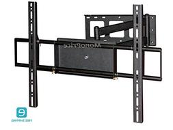 Monoprice Essentials Corner Friendly, Full-Motion Wall Mount