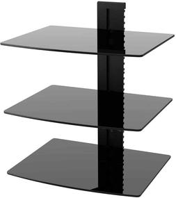 WALI Floating Wall Mounted Shelf with Strengthened Tempered