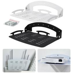 Foldable DVD Wall Mount Bracket Under TV Shelf DVR Cable Box