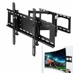Full Motion Flat/Curved TV Wall Mount Bracket For Samsung LG