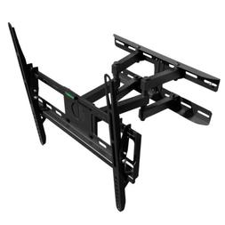 FULL MOTION TILT DUAL ARM LCD LED TV WALL MOUNT BRACKET 32 4