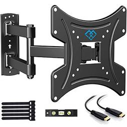 PERLESMITH Full Motion TV Wall Mount Bracket with Swivels Ti