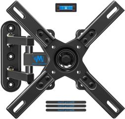 full motion tv wall mount with articulating