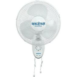 Hurricane Supreme Oscillating Wall Mount Fan 12 in