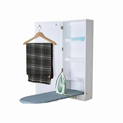 Facilehome Ironing Board Cabinet Wall Mounted Storage Cabine