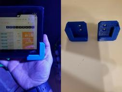 Kindle Fire Wall Mount Brackets - 3D printed - Many Colors