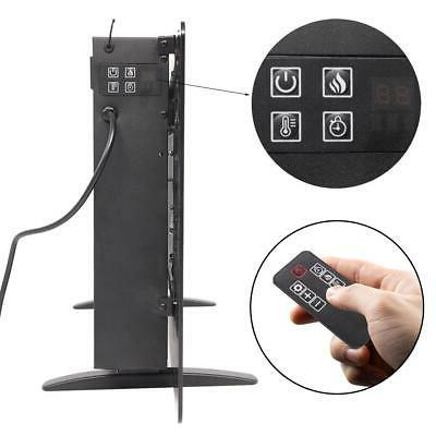 """1400W Wall Mount Freestanding 36"""" Fireplace Remote"""
