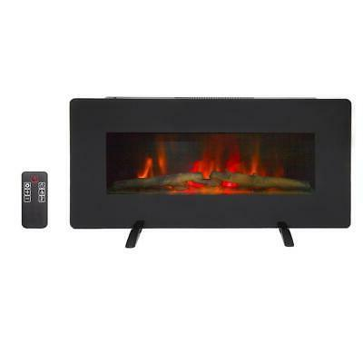 1400w wall mount freestanding 36 electric fireplace