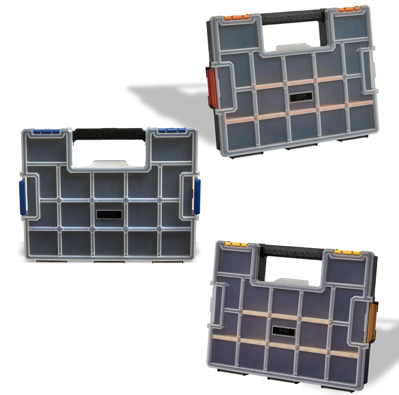 15 Wall Small Parts Organizer Colors