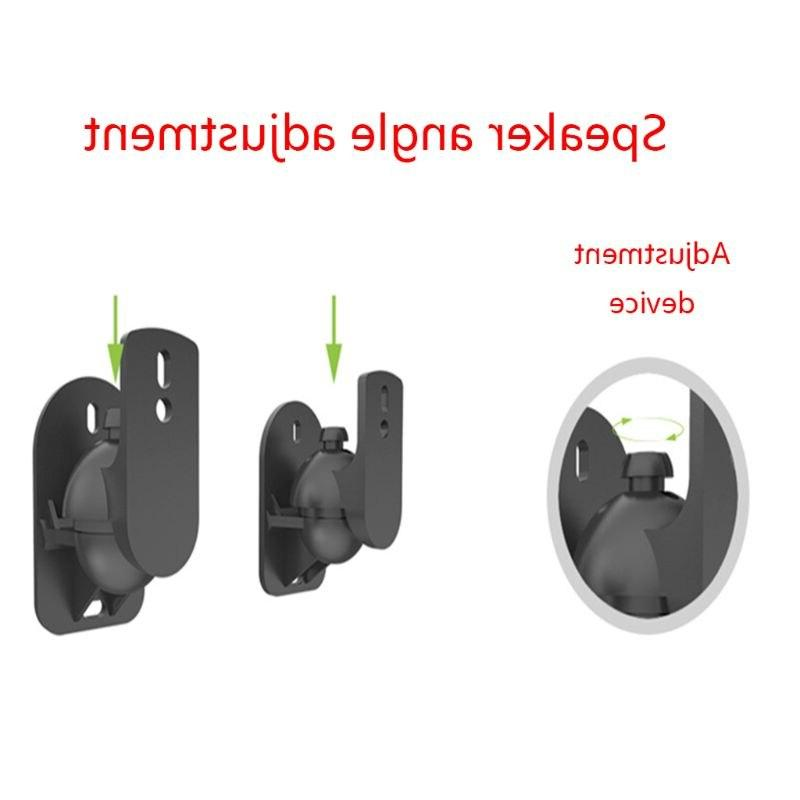 1Set Universal Wall Stand Clamp Swivel and Tilt Angle Rotation for