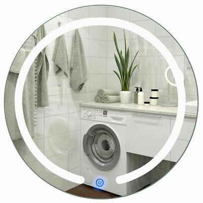 """20"""" LED Mirror Illuminated Mount Bathroom Up Touch Button"""