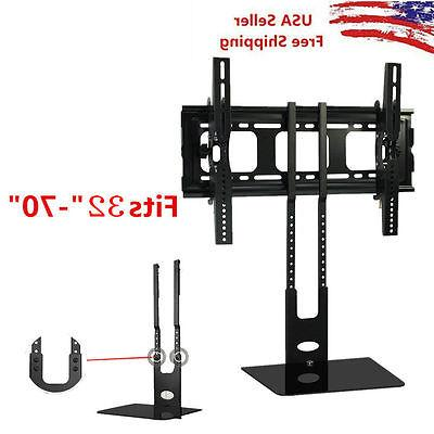 32''-70'' Shelf Wall Mount Bracket Under TV Component Cable