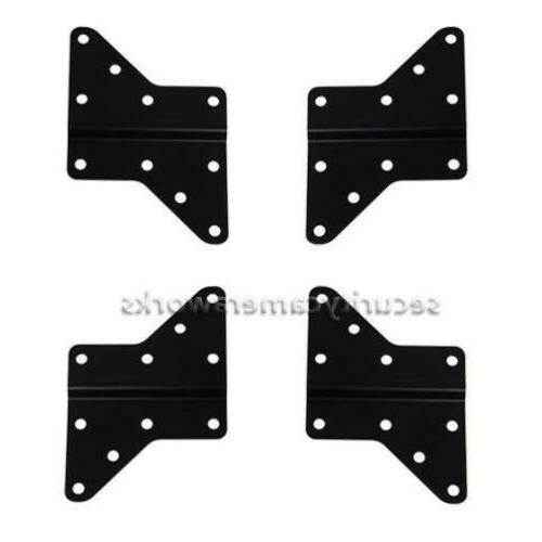 4 Extender Adapter Plates for VESA 200/400/above LED TV Wall