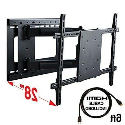 Aeon Stands and Mounts 40200 full motion TV wall mount w/HDM