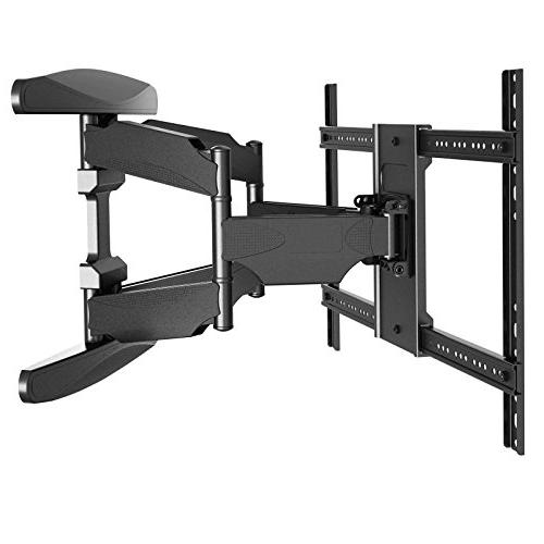 "Heavy-Duty Wall - Swivel Bracket Flat Screen 42"" to 70"" Tilt Swing Out 10' Cable"