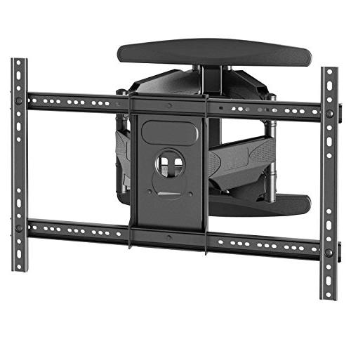 "Heavy-Duty Full TV Wall Mount Swivel Bracket Fits Screen from to 70"" Swing Out Arm 10'"