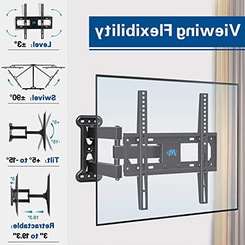 Mounting Dream Full TV Mount 26-55 Inches TVs, Bracket Kit Finder & 2 HDMI TV Wall and 60lbs