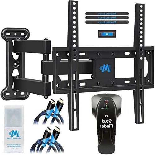 Mounting Dream Full Motion TV Mount for 26-55 Inches TVs, TV