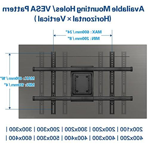 Mounting motion TV Mount Bracket for LCD and Screen TV, up to VESA 600 x LBS