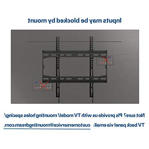 Mounting Wall Mount for 32-55 and Plasma up Capacity, Profile and Space