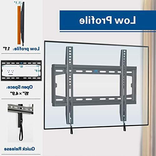Mounting Dream Wall Mount Most 32-55 and Mount up to VESA and 100 Loading Capacity, and Space Saving MD2361-K