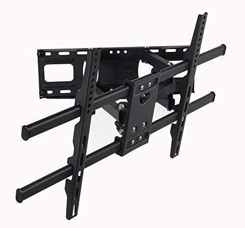 """VideoSecu MW380B5 Articulating Bracket for LED Plasma Up 125 with VESA 400x400 Pulls Out 14"""" AW9"""