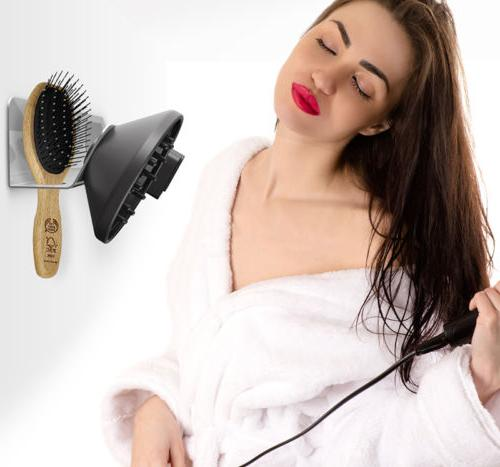 Accessories Wall Mount Aluminum Supersonic Hair Dryer