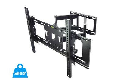 "Articulating Full Wall Mount 180°Swivel For 42""47""50""55""60""65"""