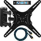 Articulating Tilt Swivel LED LCD Plasma TV Wall Mount 32 37