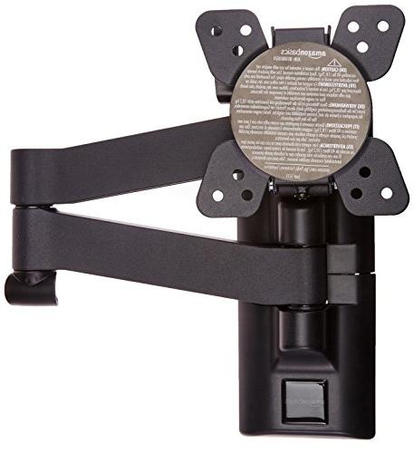 AmazonBasics Articulating TV Wall Mount for 12-inch to 39-in