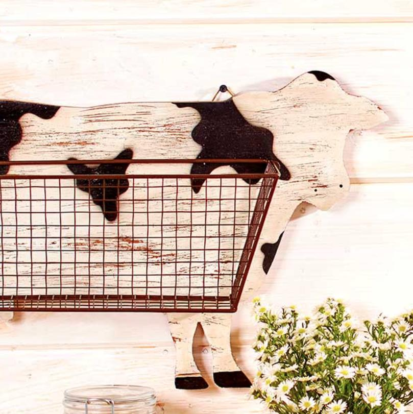 Cow Kitchen Mount Country Primitive