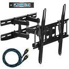 Dual Articulating Arm TV Wall Mount Bracket With Twisted Vei