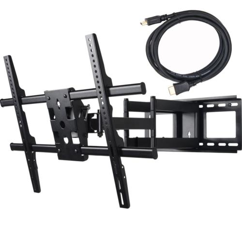 VideoSecu 24 inch Extension Full Motion Swivel Articulating