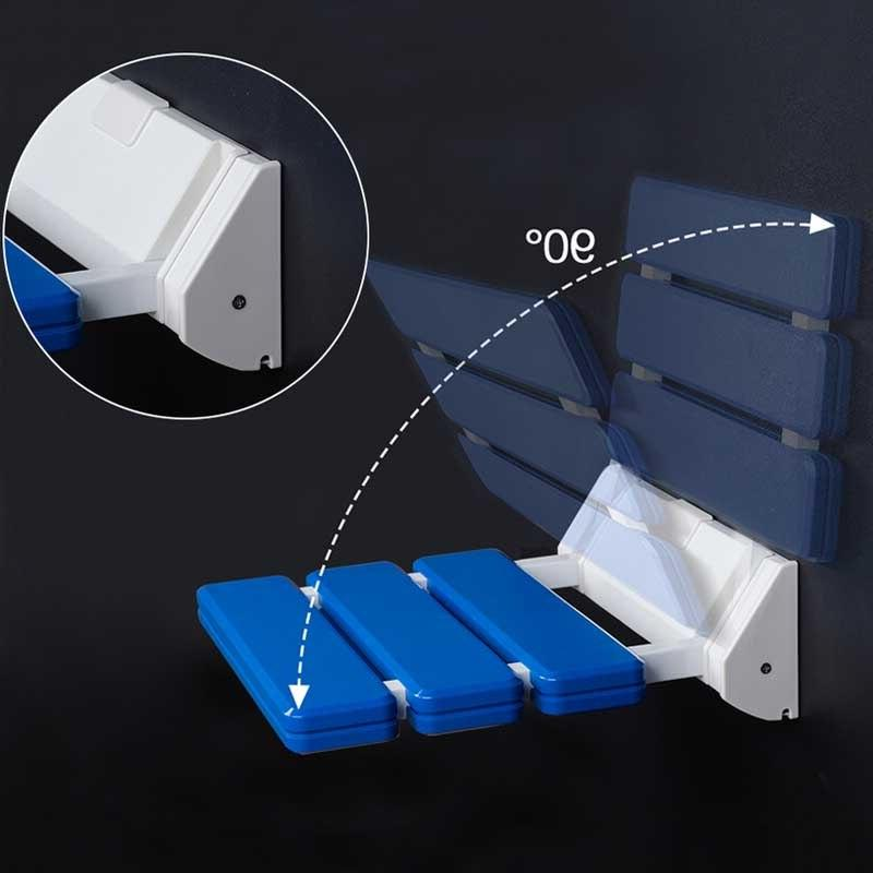 GAPPO <font><b>Wall</b></font> Seats Bathroom Stool Durable Relax Bench For Shower