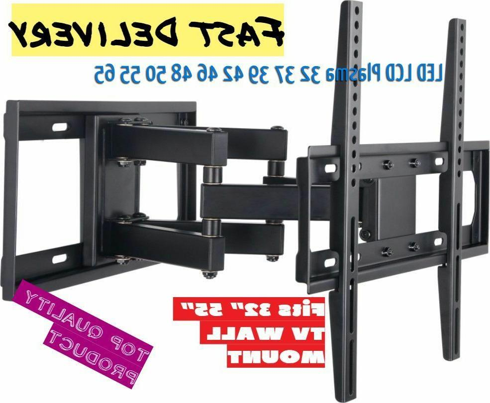 full motion articulating tv wall mount led