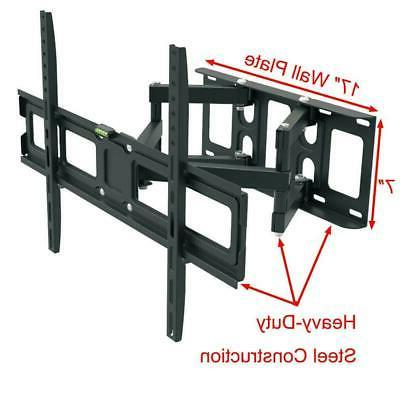 Articulating Full Motion Wall Mount Swivel For 42 43 50 55 60 70