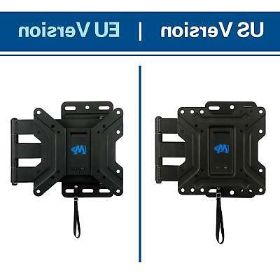 Mounting Full Lockable Wall Mount for 17-39 Inch Flat Screen TV,